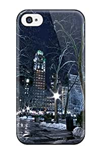 Special Design Back Nyc Man Made Phone Case Cover For Iphone 4/4s
