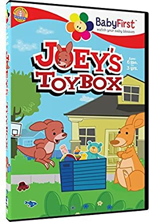 Amazon com: BabyFirst - New Words With Joey's Toybox: Joey