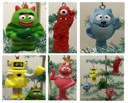 Yo Gabba Gabba Brobee  Christmas Ornament