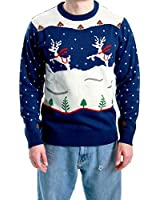 Ugly Christmas Sweater Step Brothers Dale...