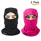 REDESS Fleece Lined Balaclava, Winter Windproof Ski face Mask,Thermal Motorcycle Neck Warmer Tactical Balaclava Hood