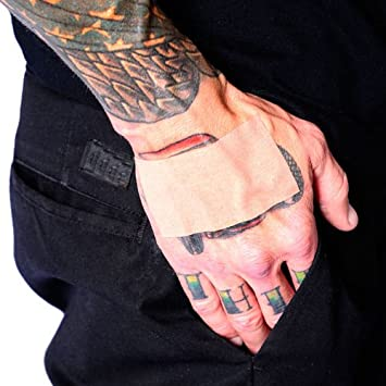 Amazoncom Tat2x Tat Skin Tattoo Cover Up Tape Light Skin Tone