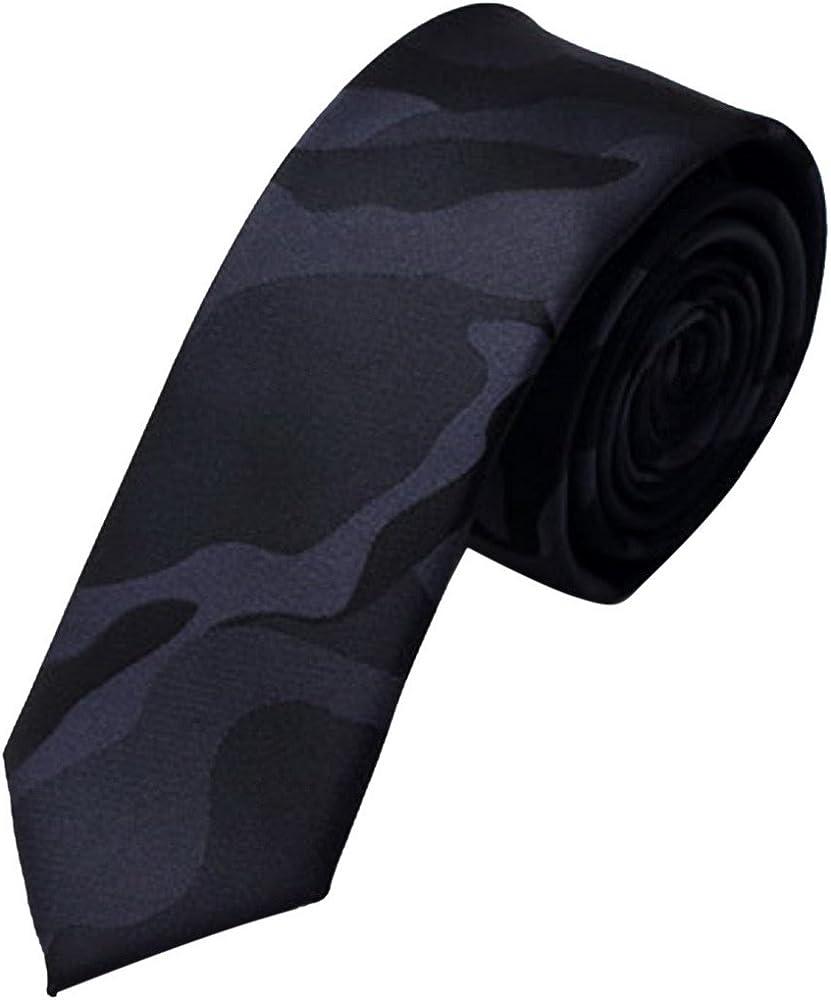 FEOYA - Corbata Moda Camuflaje Hombre Camo Tie Casual Negocio ...