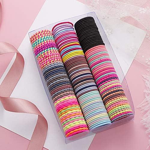 Pack de 50 gomas del pelo (varios colores) por sólo 10€ con el #código: AYEI5MM6