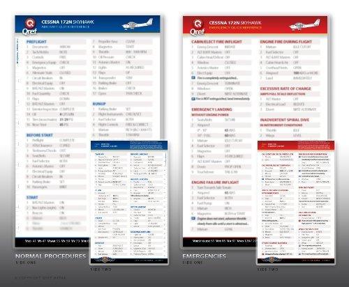 Piper Arrow IV Turbo PA-28RT-201T Qref Checklist Card