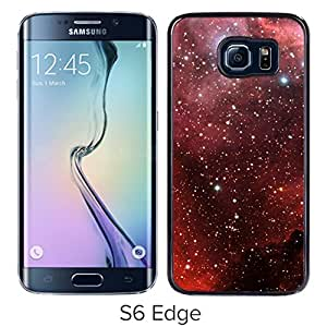New Beautiful Custom Designed Cover Case For Samsung Galaxy S6 Edge With Millions Of Stars Phone Case