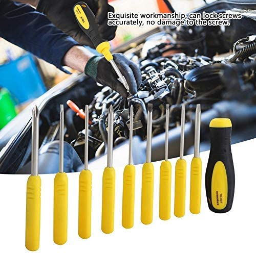 Fictor 1つの磁気ドライバーキットセットプロフェッショナル修復ツールで多機能9