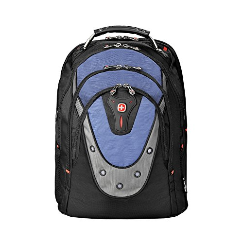 "Price comparison product image SwissGear Blue Ibex 17"" Computer Backpack,  15""L x 10""W x 19""H"