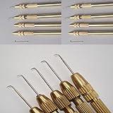One Ventilating Needle 1-2 strands & 1 Holder Set. From Jagazi Naturals