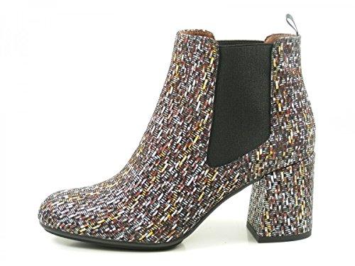 Hispanitas Genna HI75807 Schuhe Damen Stiefeletten Ankle Boots Braun
