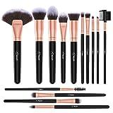 BESTOPE Makeup Brushes Set, 14 Pcs Extra Large Powder Brushes Foundation Blending Concealer Eye Face Liquid Powder Cream Cosmetics Brushes Kit, Super Softy, Super Fluffy