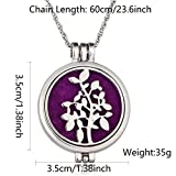 DALARAN Young Plant Necklace for Womens Glow In The
