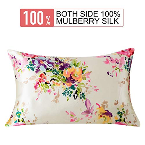 #1 BEST SELLING ANTI WRINKLE 100% MULBERRY SILK PILLOWCASE!
