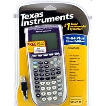 Texas Instruments TI-84 Plus Silver Edition Graphing Calculator - Purple