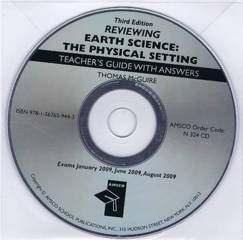 Reviewing Earth Science The Physical Setting 3rd Edition