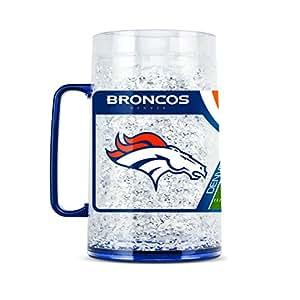 NFL Denver Broncos 38oz Crystal Freezer Monster Mug