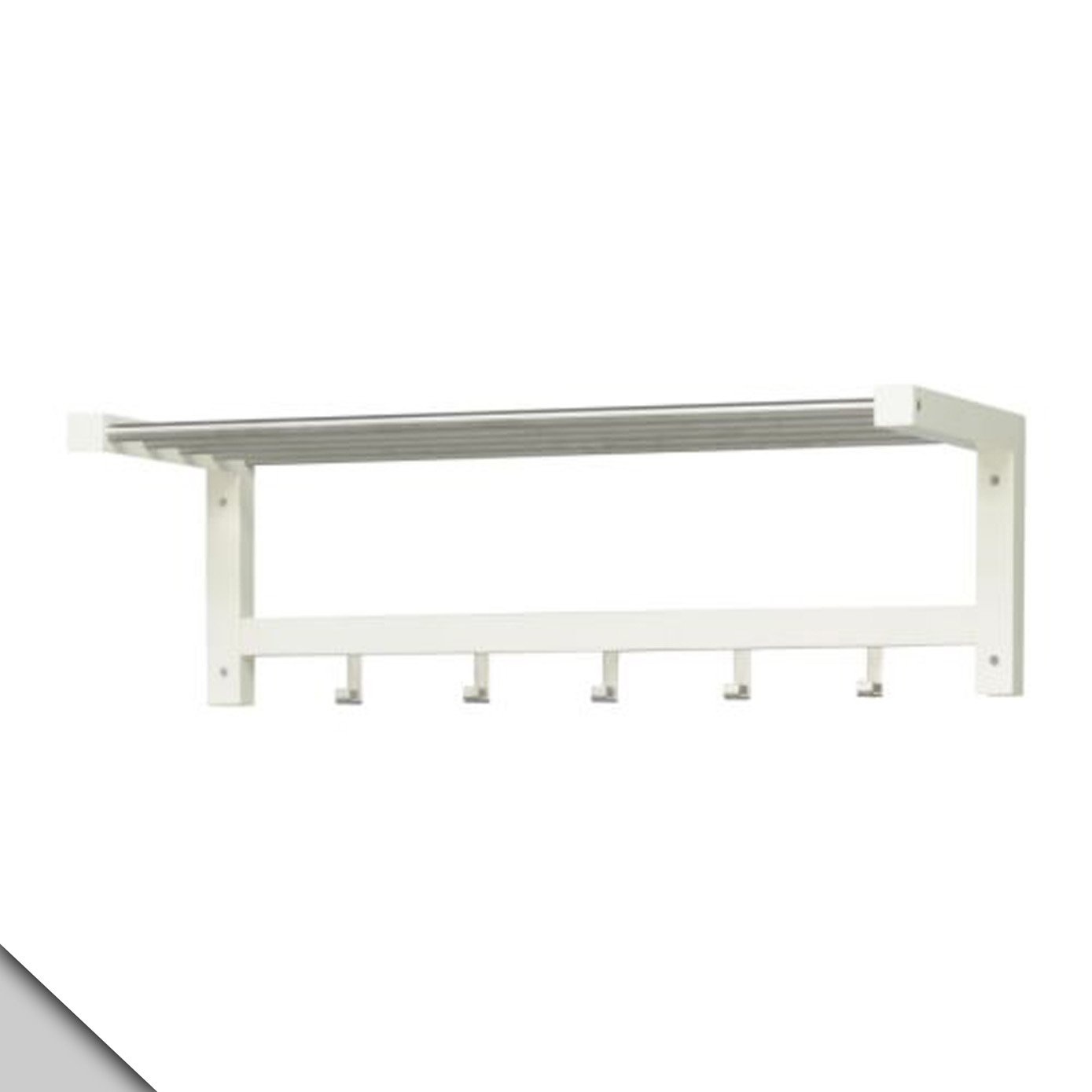 Ikea - Tjusig Hat Rack, White