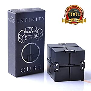 Infinity Cube Fidget Toy, Luxury EDC Fidgeting Game for Kids...