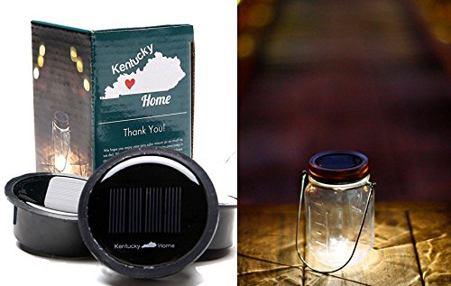 3 Pack - Solar Mason Jar Lid Insert - LED Mason Jar Solar Light for Glass Mason Jars and Garden Decor Solar Lights