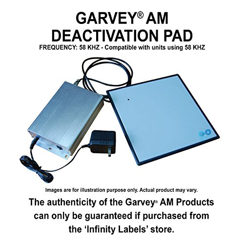 Garvey AM Deactivation Pad by Infinity Labels