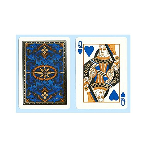 - Bicycle Dragon Back Playing Cards (Blue)
