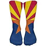 Arizona State Flag Fancy Design Sock Crew Socks