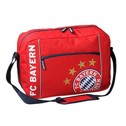 Schultertasche FC Bayern MÜNCHEN Munich - Schoolbag / shoulder Bags / Bolsas de hombro / Sacs à bandoulière FCB