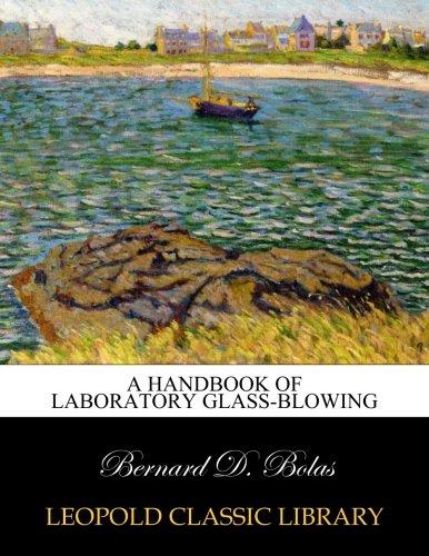 Download A handbook of laboratory glass-blowing pdf