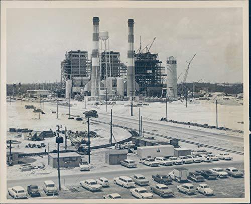 Vintage Photos 1963 Press Photo Historic Port Everglades Fort Lauderdale Fl Parking Lot 8X10