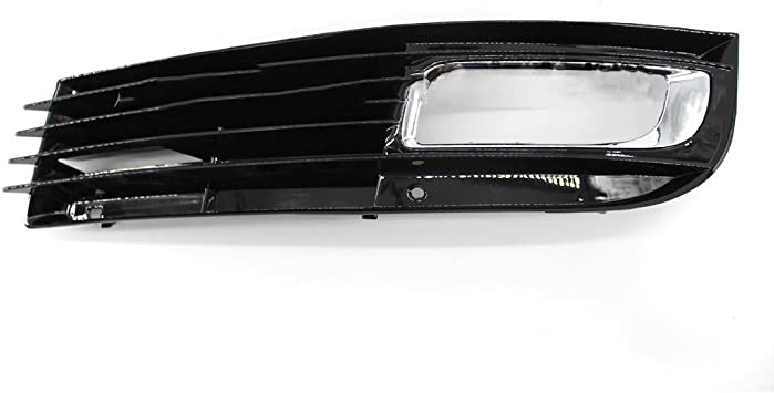 Front Right Side Bumper Fog Light Grill Cover For Audi A8 D3 2007 2008 2009 2010