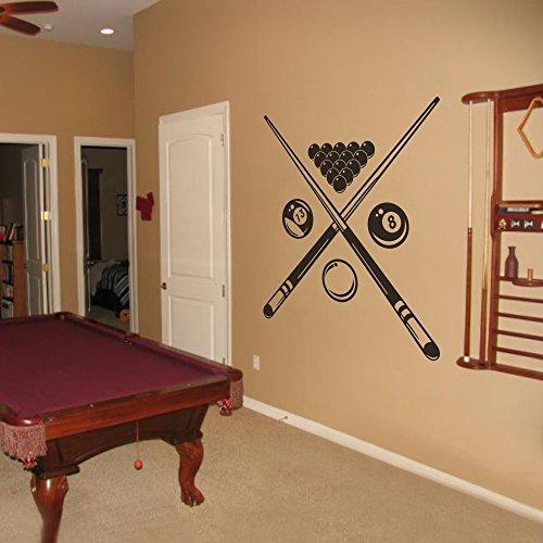 MairGwall Snooker Sports Art Murals Billiard Room Art, used for sale  Delivered anywhere in USA