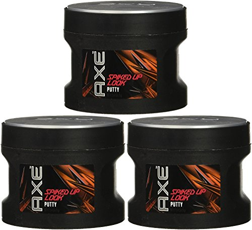 Axe Styling Spiked-Up Look Putty, 2.64 Ounce (Pack of 3) by AXE