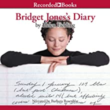 Bridget Jones's Diary Audiobook by Helen Fielding Narrated by Barbara Rosenblat