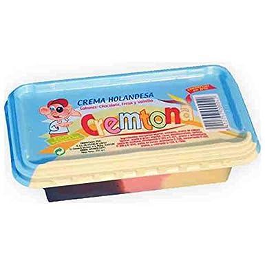 Crema Holandesa 3 colores Cremtona. Chocolate, Fresa y Vainilla.: Amazon.es: Alimentación y bebidas