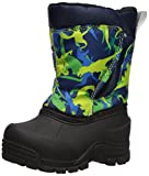 Northside Baby Snoqualmie Snow Boot, Navy/Green, Size 10 Medium US Toddler