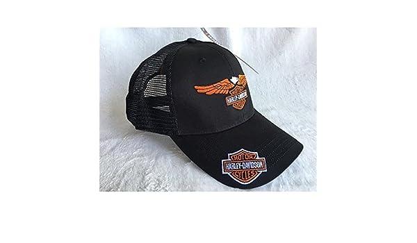 H-D Harley – Gorra de moto Harley Davidson con logo de águila ...