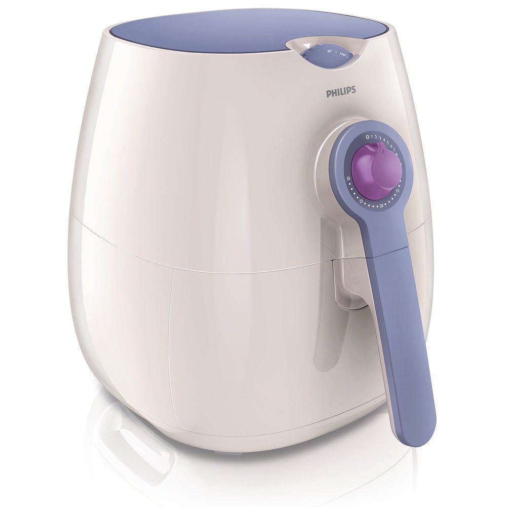 Nwt PHILIPS HD9220 Airfryer Low Fat Dishwasher Oilless Air Fryer ~white