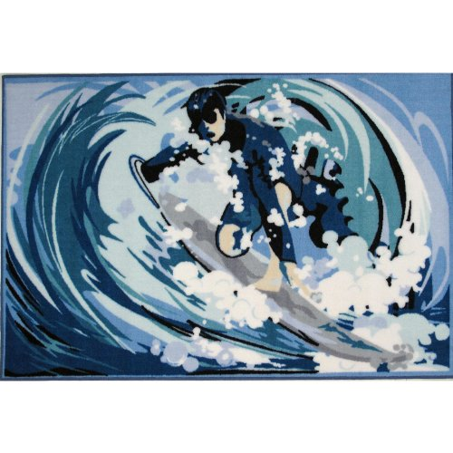 Surfing Area Rug 39