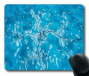 """Spring Melt Water Trails Lead To A Seal Custom Rectangle Mouse Pad Oblong Gaming Mousepad in 220mm*180mm*3mm (9""""*7"""") -922014 by icecream design"""