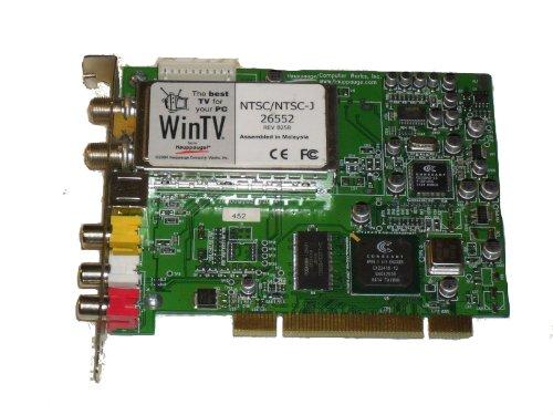 Hauppauge WinTV PVR-150 NTSC/FM TV Tuner PCI Capture Card 5187-7619