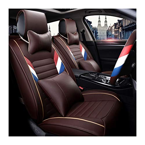 QARYYQ Car Seat Cover Anti-Slip Backing Easy to Clean Anti-fouling Thick Material Four Seasons Protection Cushion Cushion car Seasons seat Cover (Color : BB)