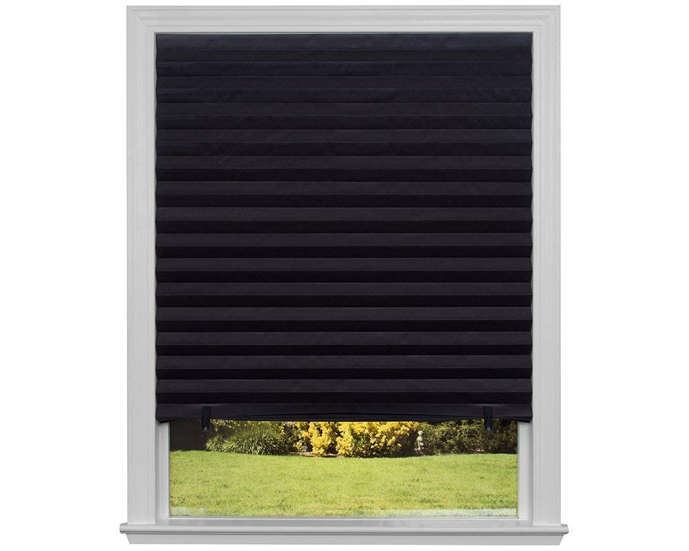 JUNICO Blackout Blinds Pleated Quick Fix Easy install and cordless JUNICO TRADING