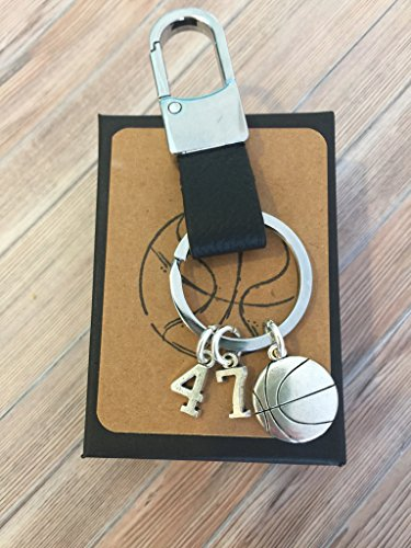 Customizable Basketball Player Keepsake Key Chain with Gift Packaging for Your Favorite Player Birthday Graduation New to Team