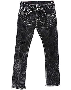 Men's Big T Straight Leg Natural Flap Pocket Denim Jeans