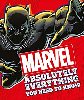 Book Cover: Marvel Absolutely Everything You Need To Know