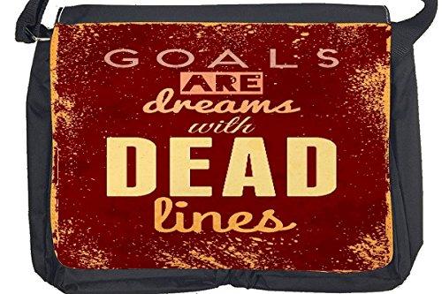 Borsa Tracolla Proverbi sogni Stampato