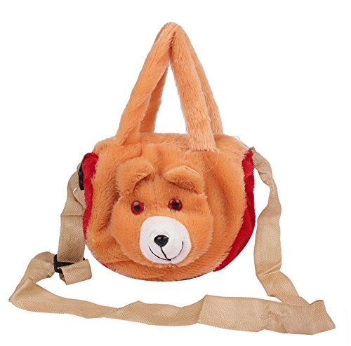 Envie Faux Fur Brown Coloured Zipper Closure Sling Bag  Amazon.in  Shoes    Handbags 49464ad75728d