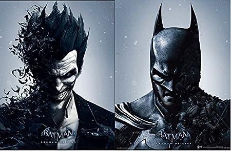 Batman arkham origins batman and joker 3d lenticular poster batman arkham origins batman and joker 3d lenticular poster changes between the 2 voltagebd Image collections