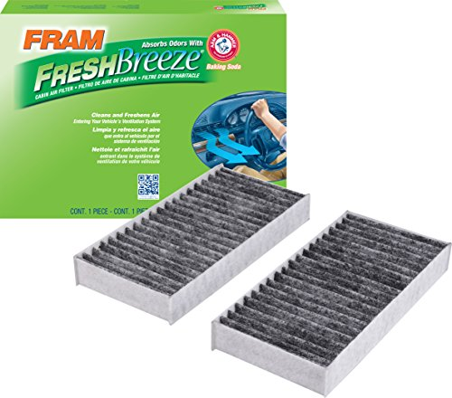 FRAM CF11777 Fresh Breeze Cabin Air Filter with Arm & Hammer