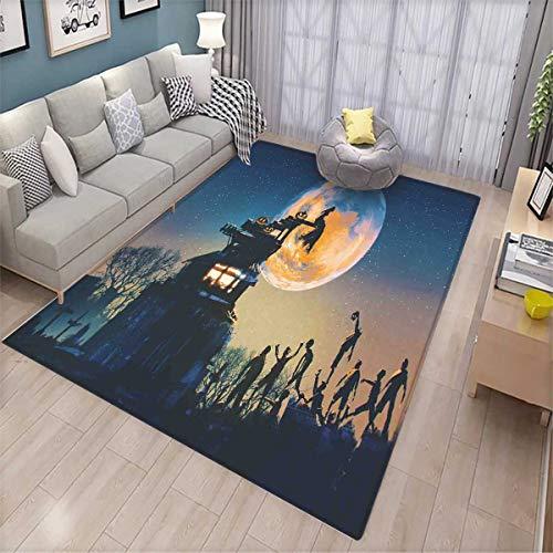 Fantasy World Floor Mat for Kids Dead Queen